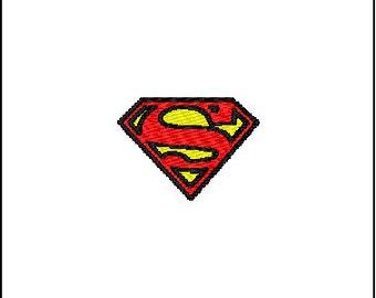 Super Man Embroidery Design Small