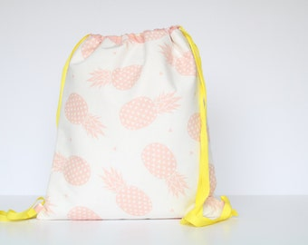 BACKPACK PINK PINEAPPLE