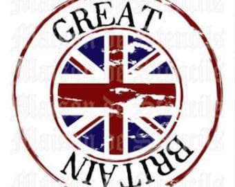 Great Britain Stencil (12x12)
