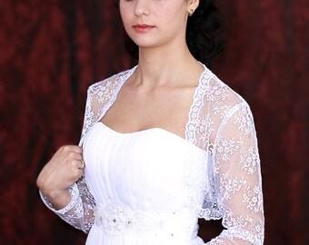 Bridal bolero white long sleeve boleroe ening bolero shrug white shrug wedding boleros shrug for bridel bolero jacket wedding jackets
