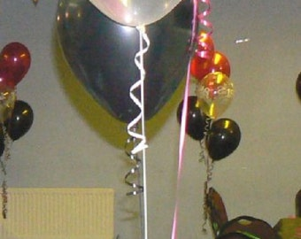 Happy 18th Birthday Party Helium Pearl Balloon Decoration DIY Cluster