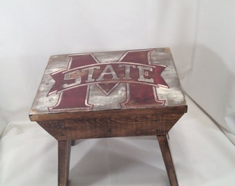 Mississippi State Bulldogs Step Stool