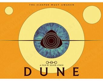 Dune Film Poster Art Print