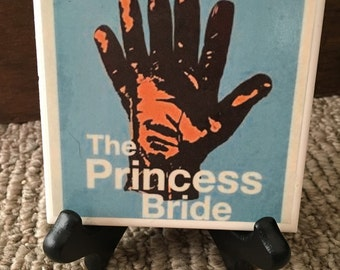 The Princess Bride Movie Poster Ceramic Display Tile with Stand New!!! Pick One!
