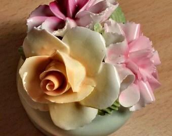Chorley Staffordshire English Bone China Flower pot