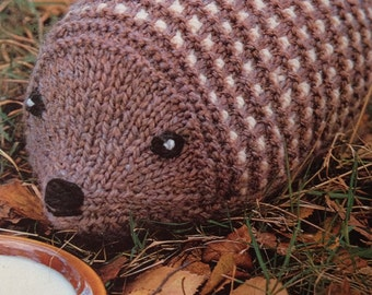 Henry Hedgehog Toy Knitting Pattern