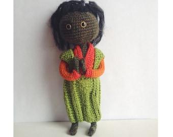 Cute monster, crochet doll, unique gift, oaak doll, handmade toy, handmade doll