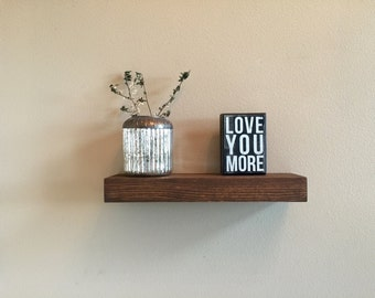 Rustic Floating Shelf     -    (floating shelves, wood shelves, rustic shelf, shelves, shelf)