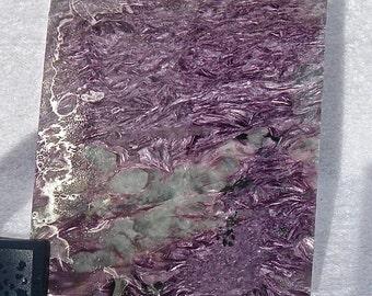 Charoite Slab Purple Russia free domestic shipping