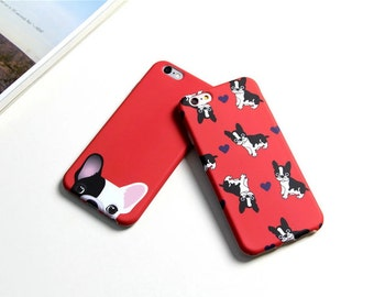 French Bulldog Red iPhone 7 case iPhone 7 Plus case iphone 6 case iphone 6 plus case iphone 6s case IMD