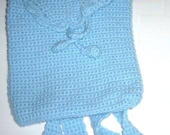 Crochet childs backpack