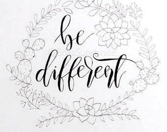 Be different (original copy)