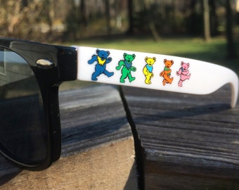 Dancing Bear Shades - Grateful Dead UV 400 lens protection