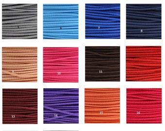 Round cord elastic 3mm
