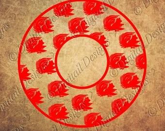 Gamecocks Monogram Frame Svg, Png, Dxf, Eps, Fcm SC gamecocks SVG  Monogram