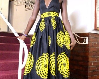 African High-waist Skirt