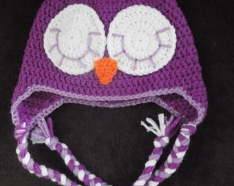 Sleeping Owl Hat