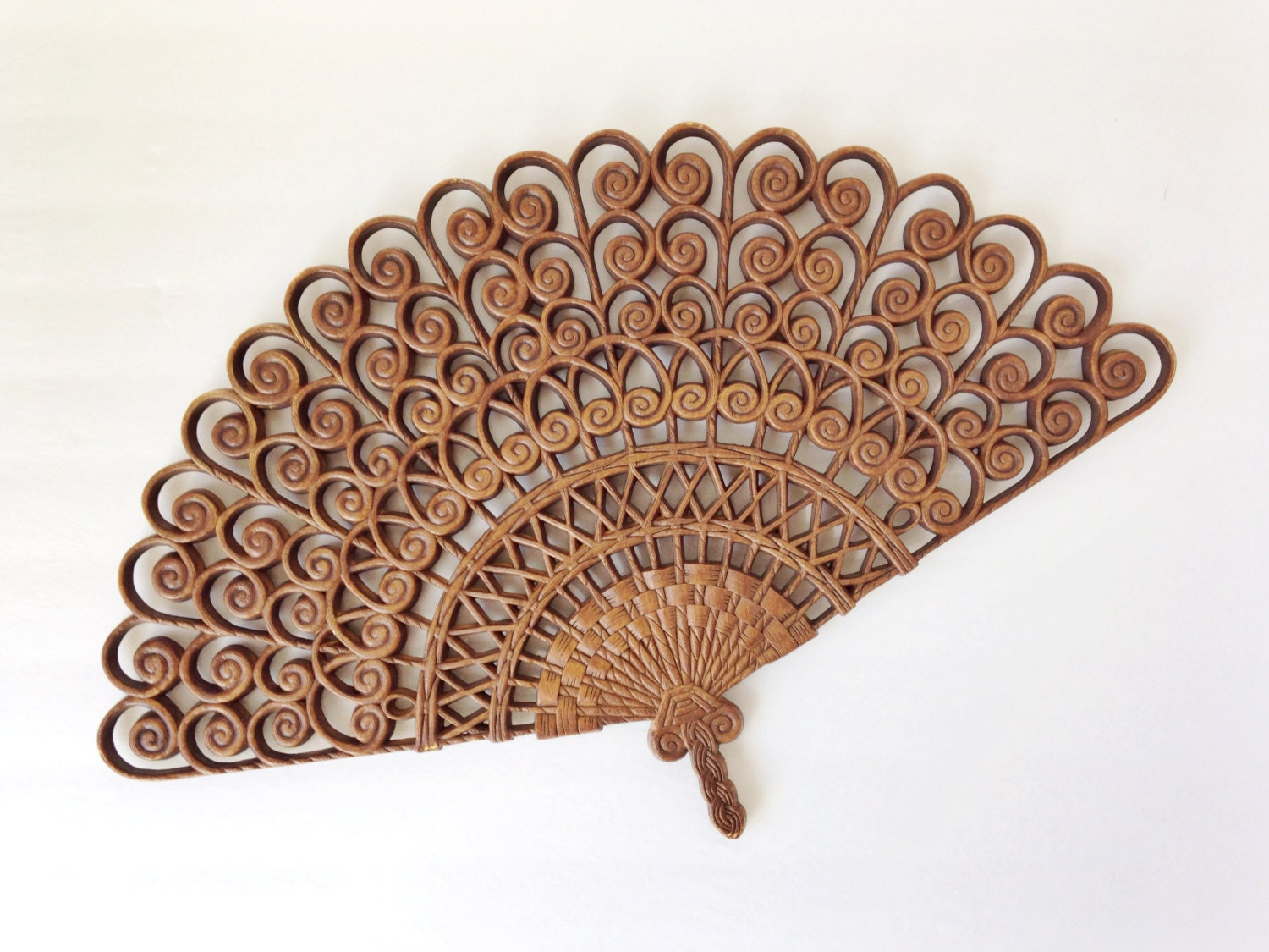 Vintage Wall Fan Decor By Burwood