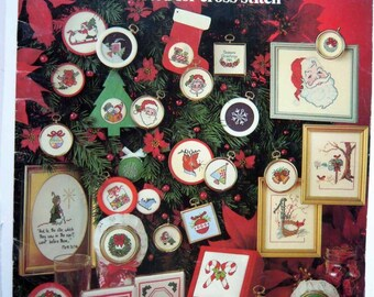 Christmas Stitchin' counted cross stitch patterns - 48 designs