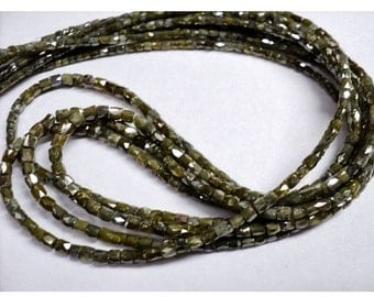 ON SALE 50% Rough Diamonds - Natural Rough Faceted Diamond Beads, Drum Shaped - Approx 2mm To 1mm Each - 20 CTW - 16 Inch Strand