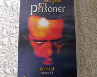The Prisoner. VHS Video. Episodes 1 and 2. Cult 1960s TV Series. Arrival. The Chimes Of Big Ben. Patrick McGoohan. Cult Video.