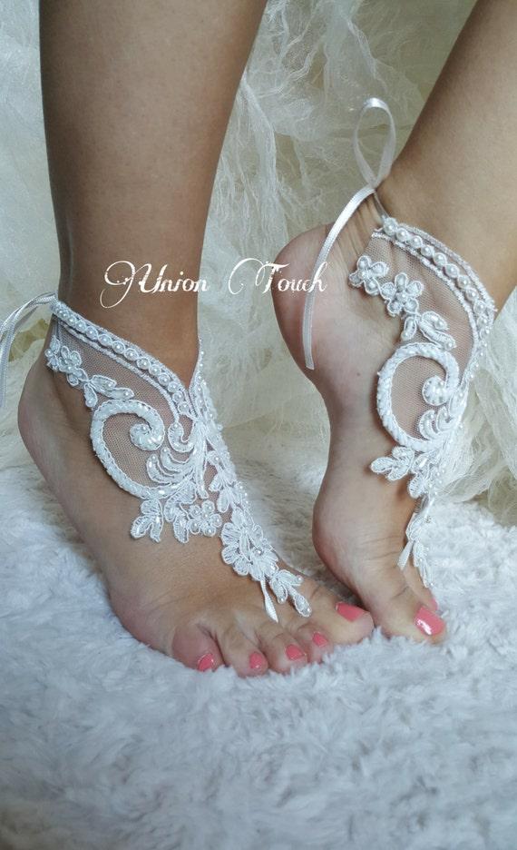 barefoot wedding shoes - photo #20