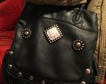 Beautiful All Leather Western Style Purse