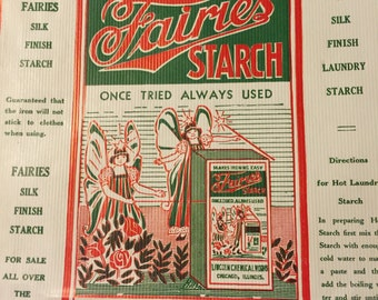 Vintage Fairies Starch Paper Bag - 5 lb bag