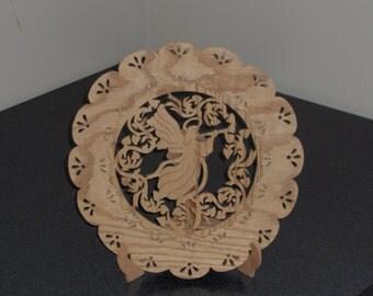 Angel Oval Plate