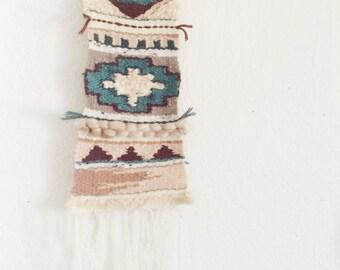 Navajo Inspired Woven Wall Hanging