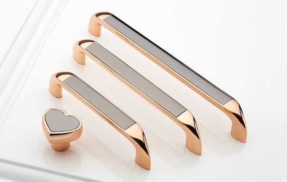 5u0027u0027 rose gold dresser knobs drawer pulls handles knobs kitchen cabinet pulls handle knob hardware cupboard handles 96 128 160mm from