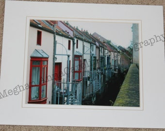French Alleyway (matted photo)