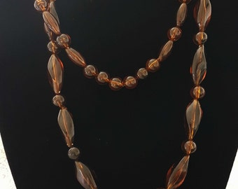 REDUCED **** SALE***(*Brown Beaded Necklaces