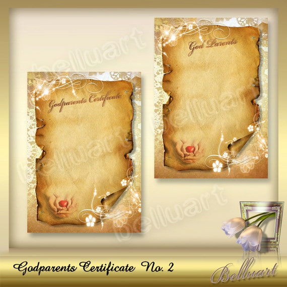 Printable god parents certificate god parents certificates printable god parents certificate god parents certificates template certificate of god parents presents for godparents din a4 yadclub Gallery