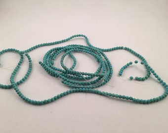 Beads,  Blue Green Beads, Blue Beads, Green Beads, 4mm Green Beads, 4mm Blue Beads, Magnesite Beads, Magnesite Blue Beads, Round Blue Beads