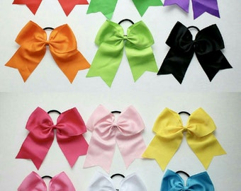 CLEARANCE!! Set of 12 cheer bows!