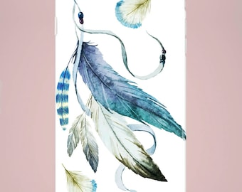 Mobile phone case Feathers