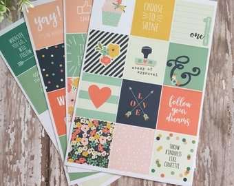 Planner Stickers by Simple Stories (Set A)