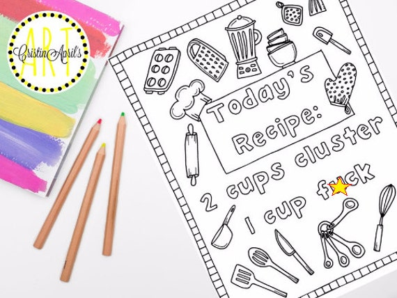 Printable Adult Coloring Book Page Curse Word Cuss By