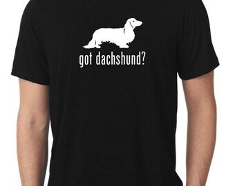 Got Dachshund T-Shirt longhaired wiener dog T104