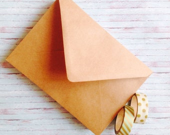 25 kraft Envelopes