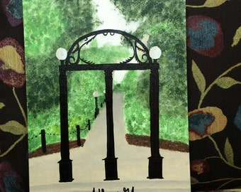 UGA Arch, Any Campus Photo on Canvas!