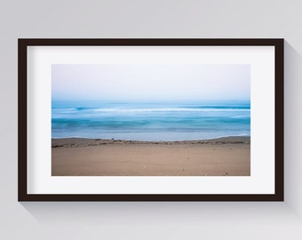 Adriatic sea photography #1. Printed on canvas