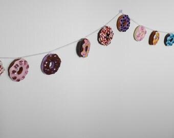 Mini Donut Garland