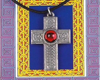 Gem Cross Pendant