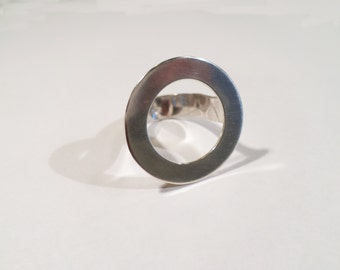 "Ring in sterling silver ""circle"""