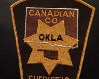 Canadian Sheriff's Office Patch