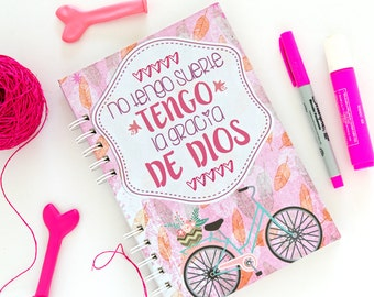 Notebook I have no luck, I have the grace of God