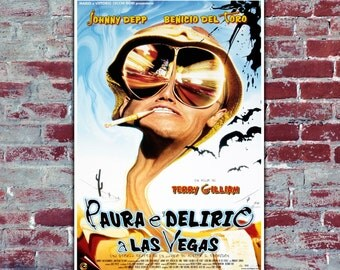 Movie Poster 35x50 CM - Fear And Loathing In Las Vegas - Johnny Depp