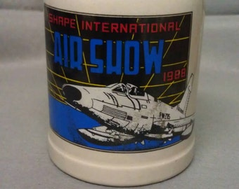 Shape International Air Show 1988 Mug Stein